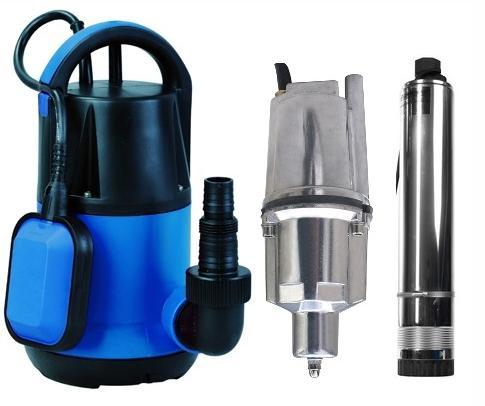 Различные виды оборудования для подъема воды