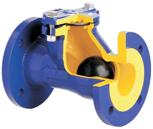 Внутреннее устройство шарового клапана