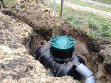Частная автономная канализация с септиком
