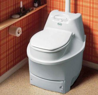 Оптимальная конструкция туалета для расположения его внутри дома