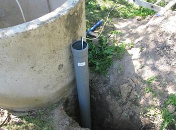 Подведение питающего кабеля в земле