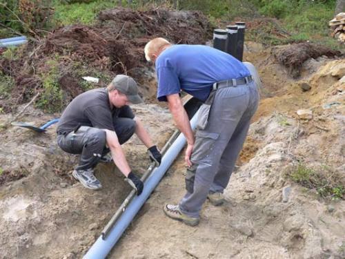 Сборка трубопровода