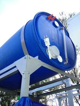 Монтаж и крепление емкости для воды