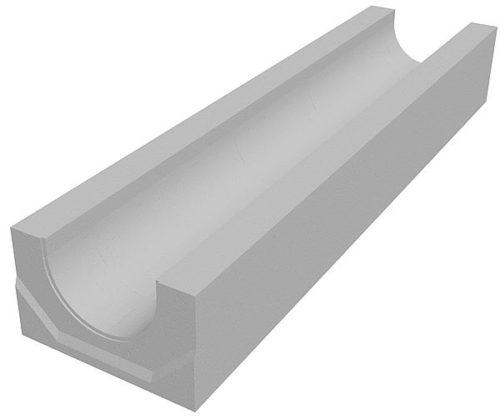 Водоотводной лоток, изготовленный из бетона