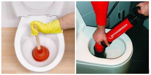 Картинки по запросу Простой способ чистки унитаза без вантуза
