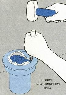Процесс демонтажа