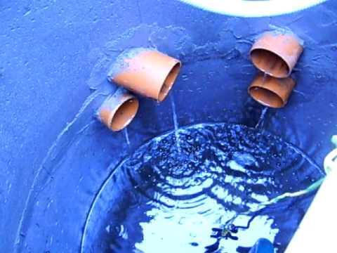 Внутренняя часть водоприемного колодца