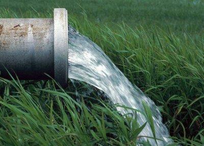 Перед началом работ нужно определить место сброса вод