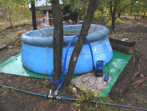 дренажный насос для бассейна