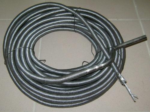 Гибкий вал – аналог троса, обмотанный пружиной