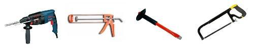 Основной необходимый набор инструментов