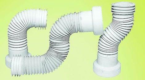 Гофрированная труба для унитаза