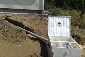 канализация на даче своими руками