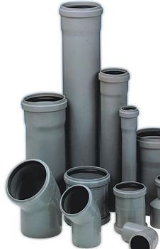 ПВХ трубы и фитинги внутренней канализации