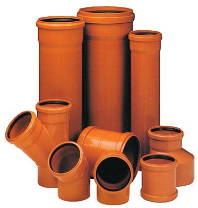 Оранжевый – цвет наружной канализации