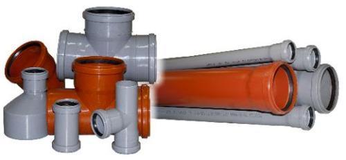Полимерные трубы для внутренней и внешней канализации