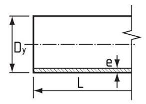 Диаметр и толщина стенки труб
