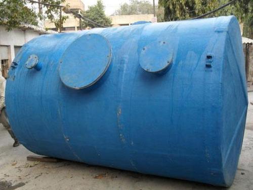 металлическая емкость под канализацию