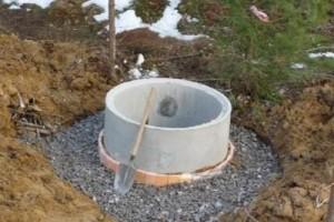 Готовый канализационный колодец