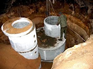 Процесс создания канализации загородного дома или дачи