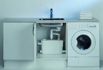 насос санитарный для кухни в квартире