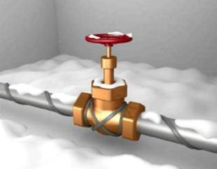 Канализационные трубы нуждаются в отоплении