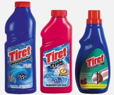 «Тирет» предлагает средства как для очистки, так и для профилактики