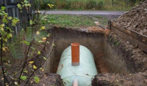 пластмассовые емкости для канализации после установки