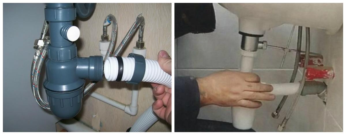 Сантехника правильное подключение мойки к канализации сантехника водяные теплые полы