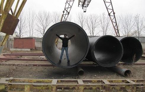 Изделия большого диаметра