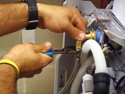 Подключение подвода воды