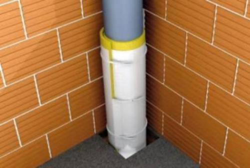 Шумоизоляция способна снизить шум от труб до минимума