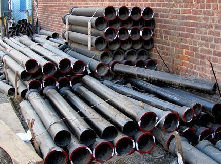 Трубы чугунные для водопровода
