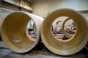Трубы, изготовленные из стеклопластика