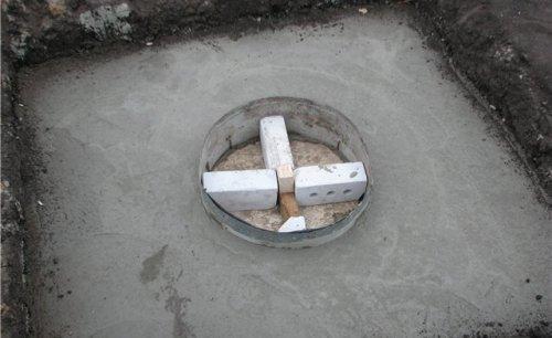 Перекрытие, залитое бетоном