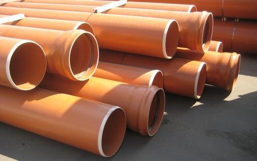 ПВХ зачастую применяются для внешней канализации