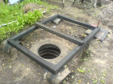 Полученный септик можно использовать и в качестве туалета