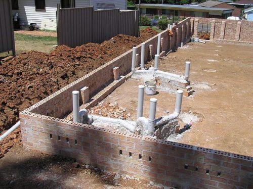 Прокладка канализационной сети на этапе строительства дома