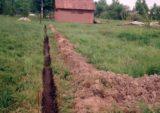 Дренажная канава дает владельцу участка контроль над потоками воды
