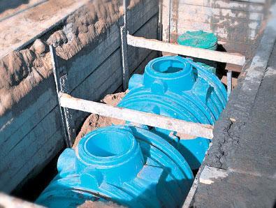 Уменьшение давления на стенки емкости