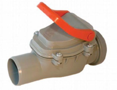 Клапан для канализации уменьшит риск сбоя в работе системы