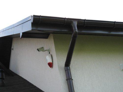 водостоки для крыши