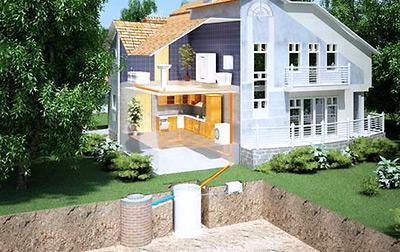 Загородную канализацию вполне доступно устроить своими руками