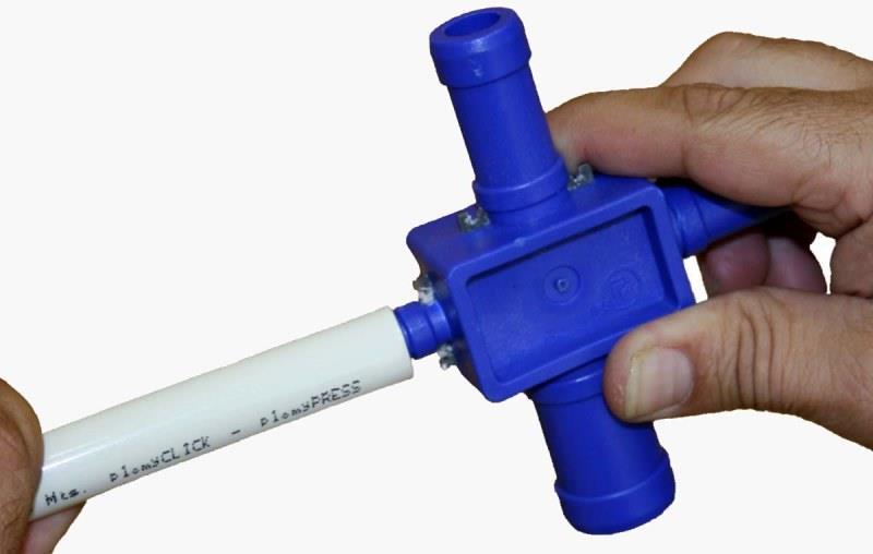 Развальцовка металлопластиковой трубы своими руками